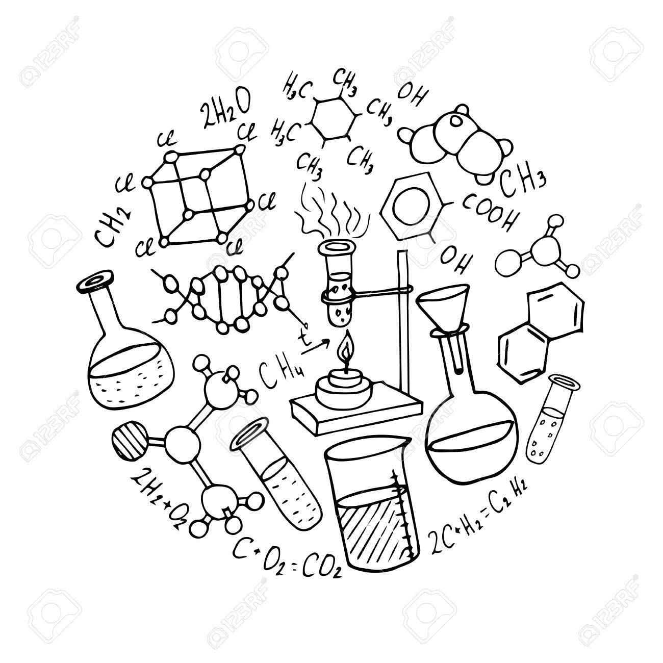 Chemistry Lab Drawing At Getdrawings
