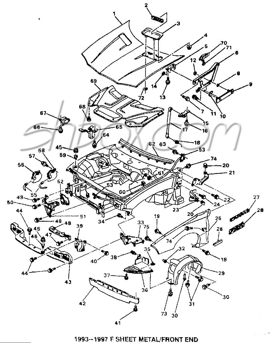 886x1128 4th gen lt1 f body tech aids drawings exploded views