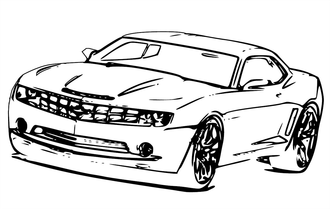 Chevrolet Camaro Drawing At Getdrawings