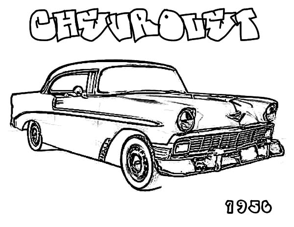 1969 Chevy C10 Truck Cartoon