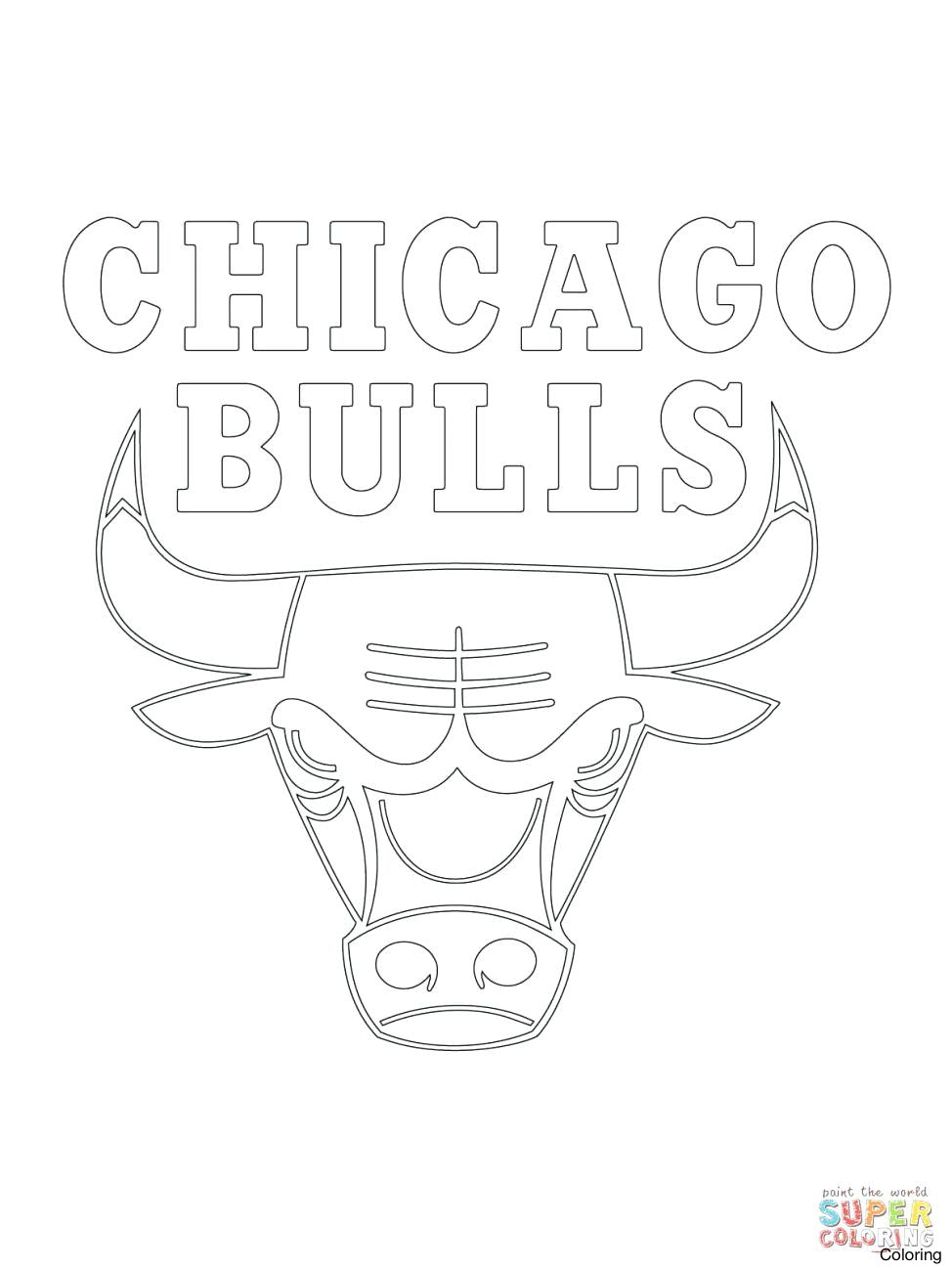 Chicago Bulls Coloring Pages Free Coloring Pages Download | Xsibe ...