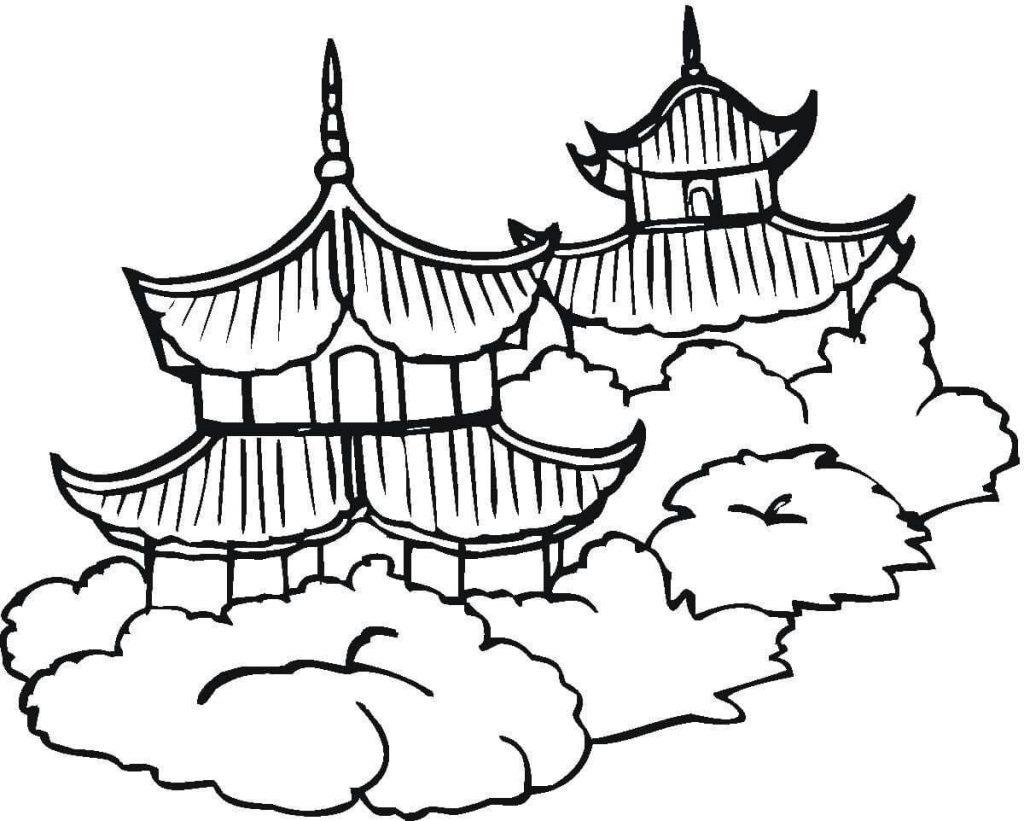 Chinese Flag Drawing At Getdrawings
