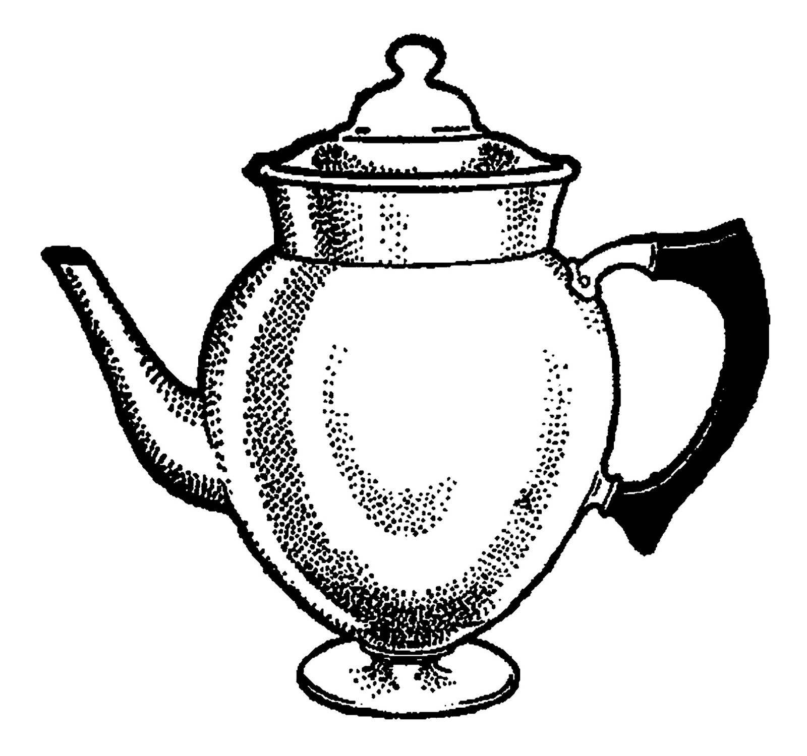 Coffee Pot Drawing At Getdrawings