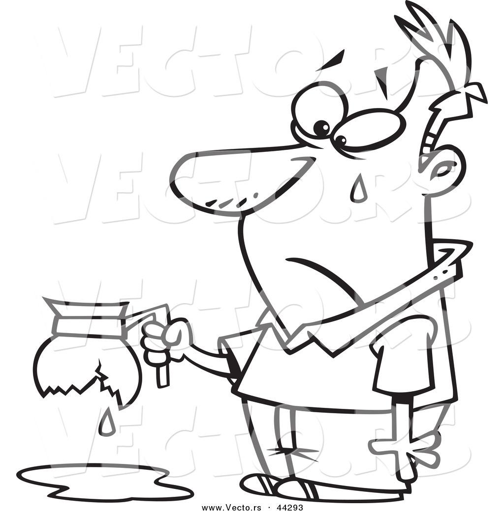 Coffee Pot Drawing At Getdrawings