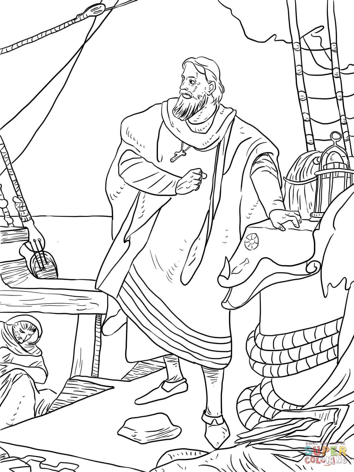 Columbus Day Drawing At Getdrawings