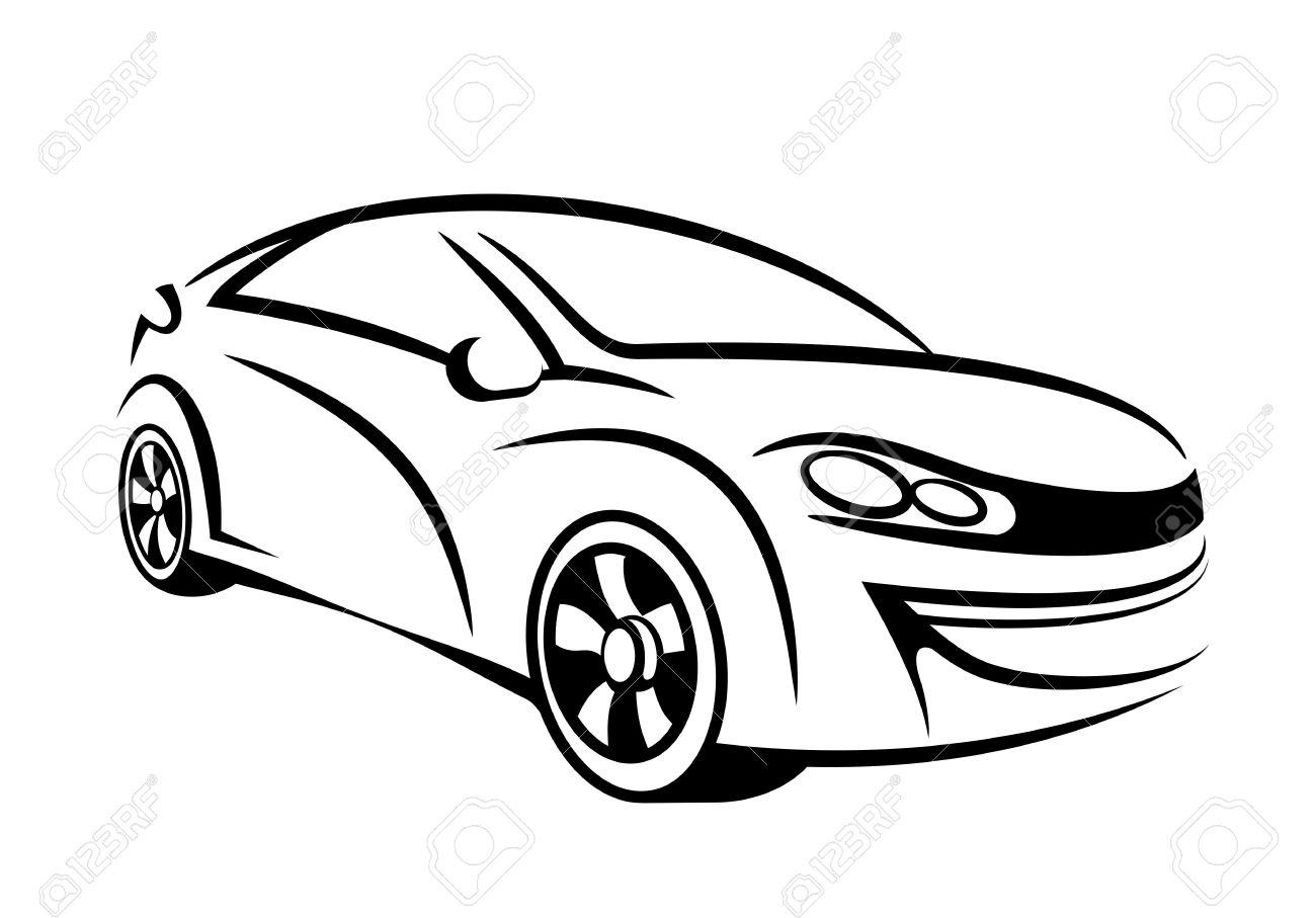 Concept Car Drawing At Getdrawings