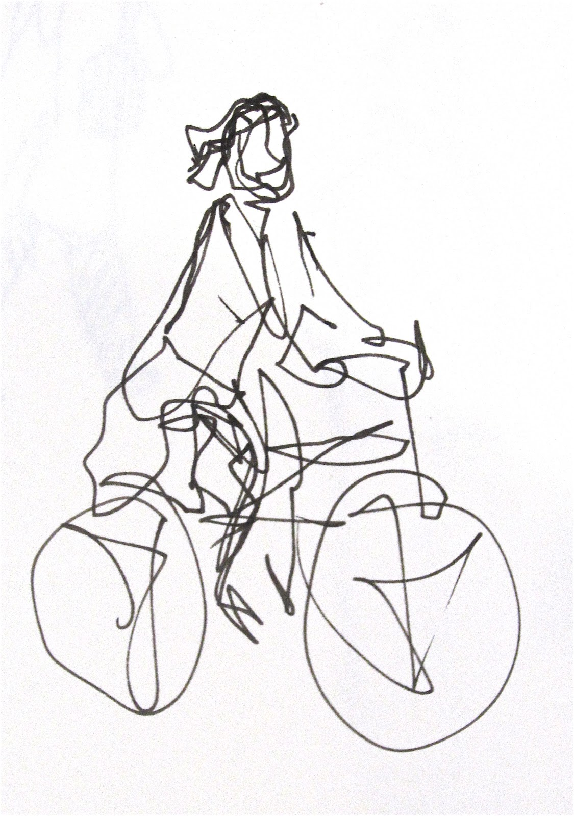 Continuous Contour Line Drawing At Getdrawings