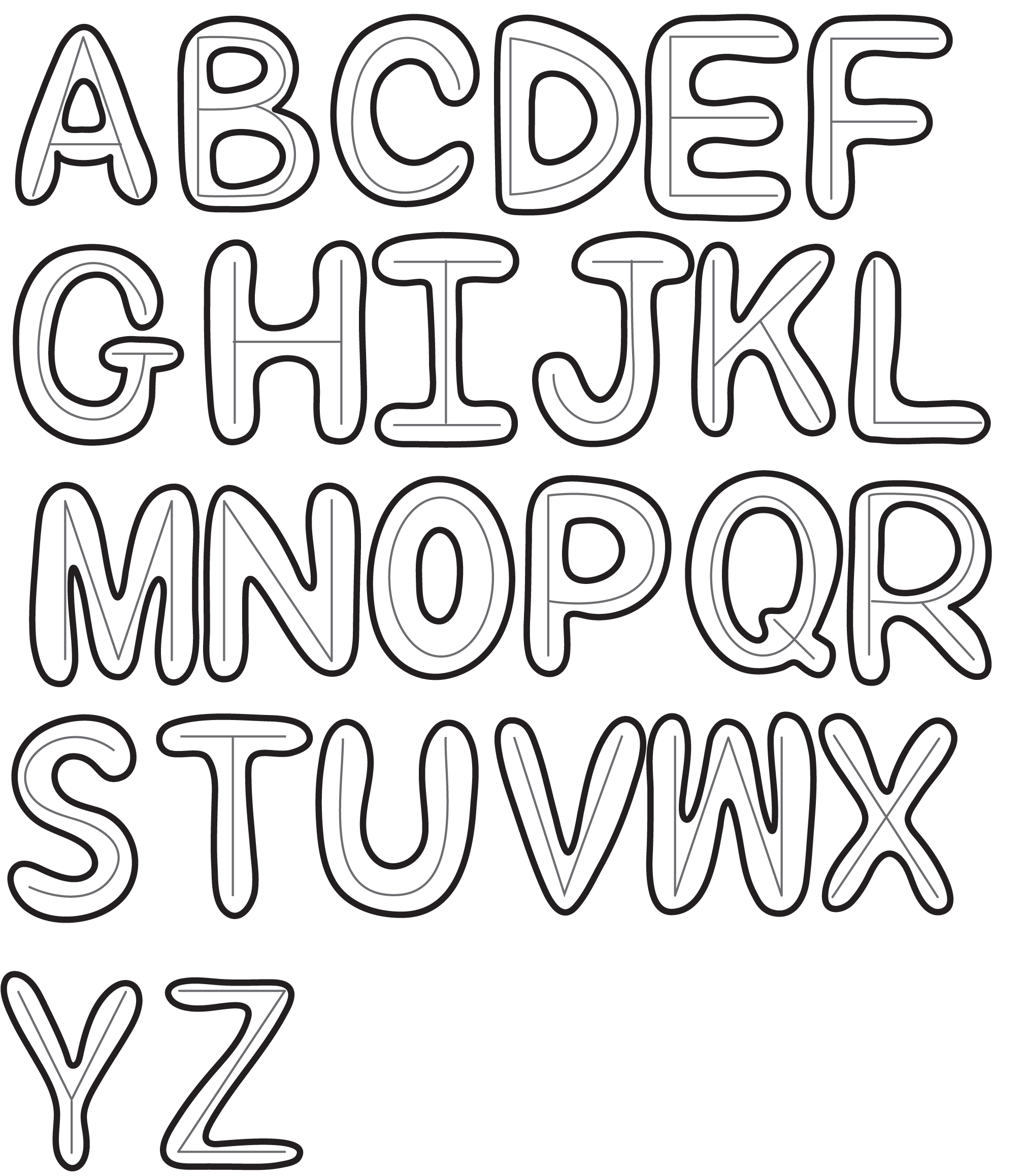 Image of cool easy letter designs how to draw cool fonts more design cool ways to write letters easy inviletterco expocarfo Choice Image