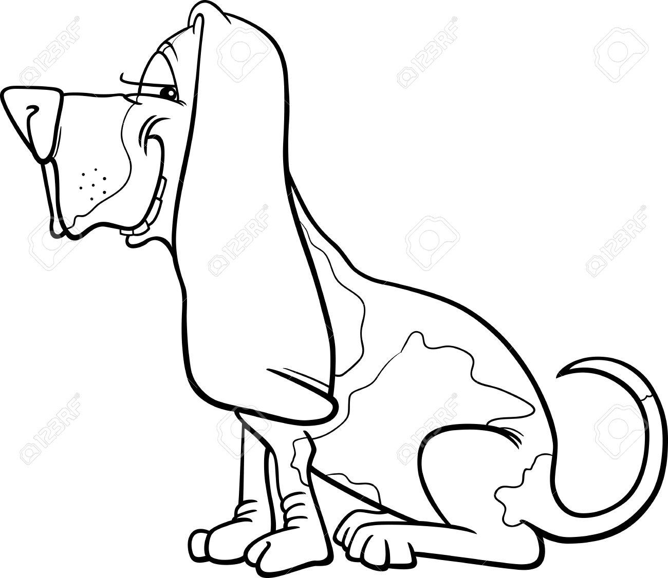 Coon Dog Drawing At Getdrawings