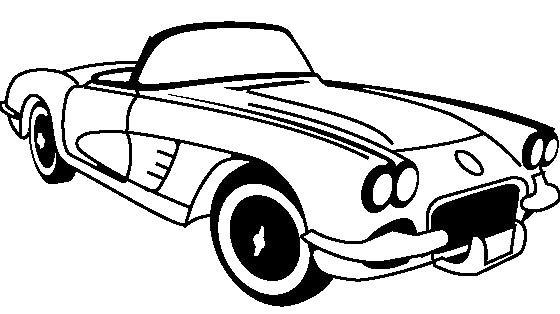 corvette z06 drawing at getdrawings  free download