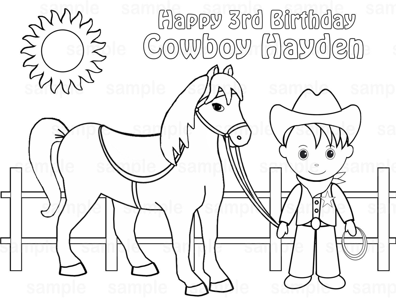 Cowboy Drawing For Kids At Getdrawings