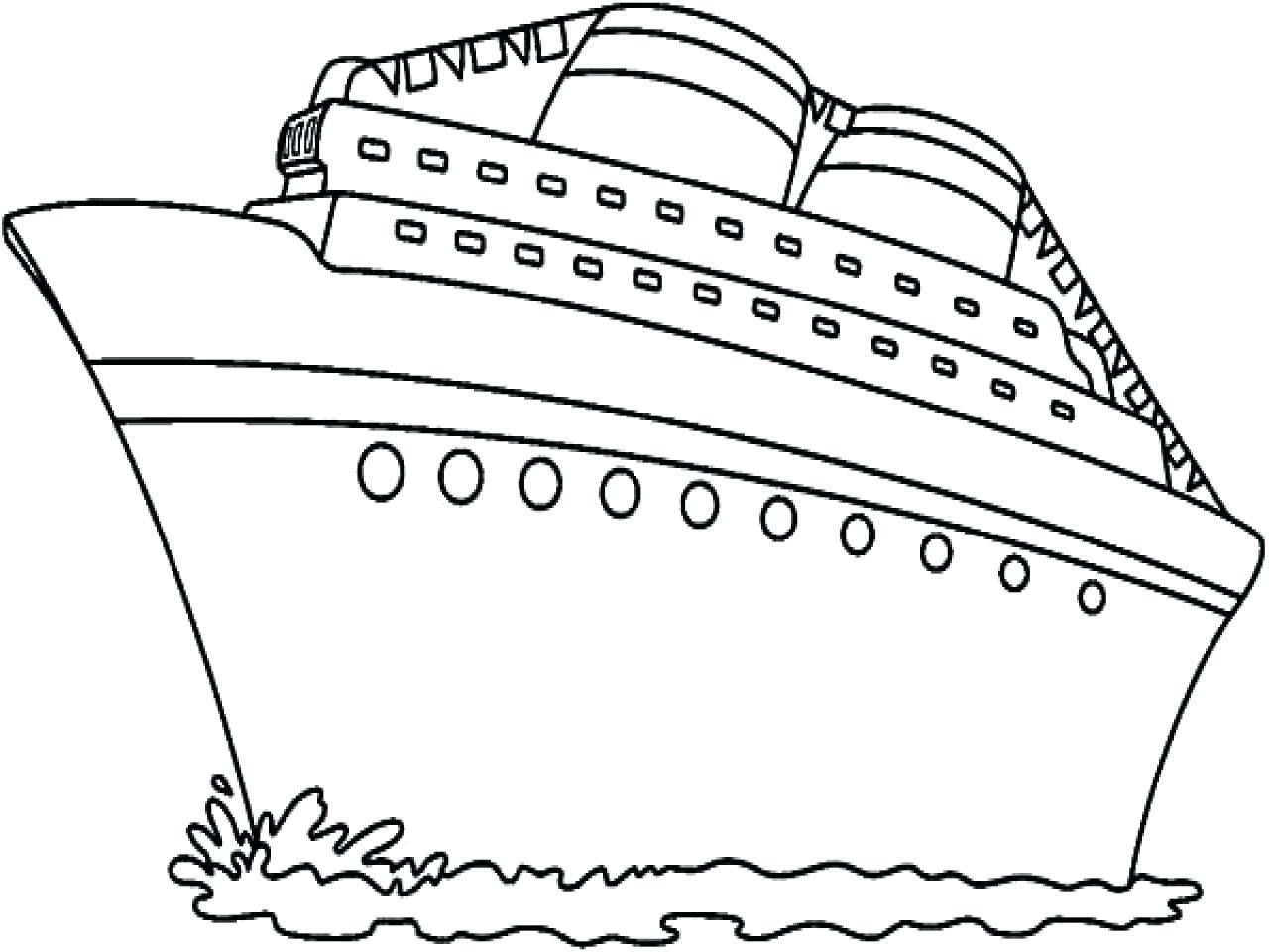 Cruise Drawing At Getdrawings