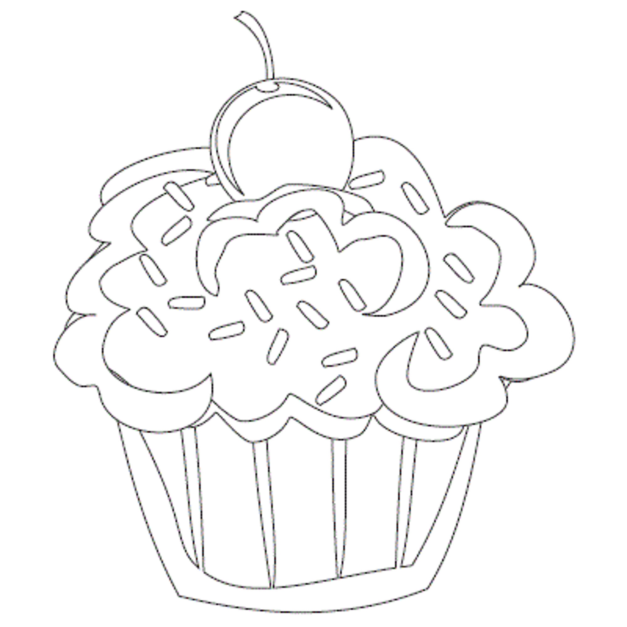 Cupcake Drawing Designs At Getdrawings