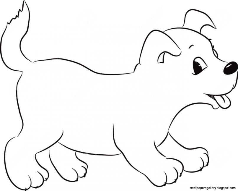 Pictures Of Cute Dogs To Draw