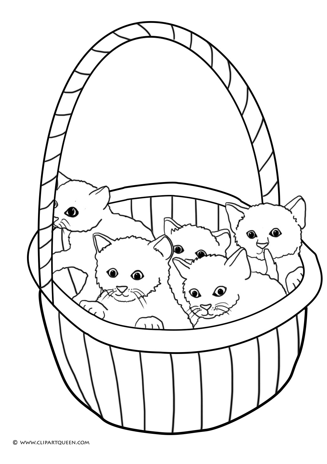Cute Kitten Drawing At Getdrawings