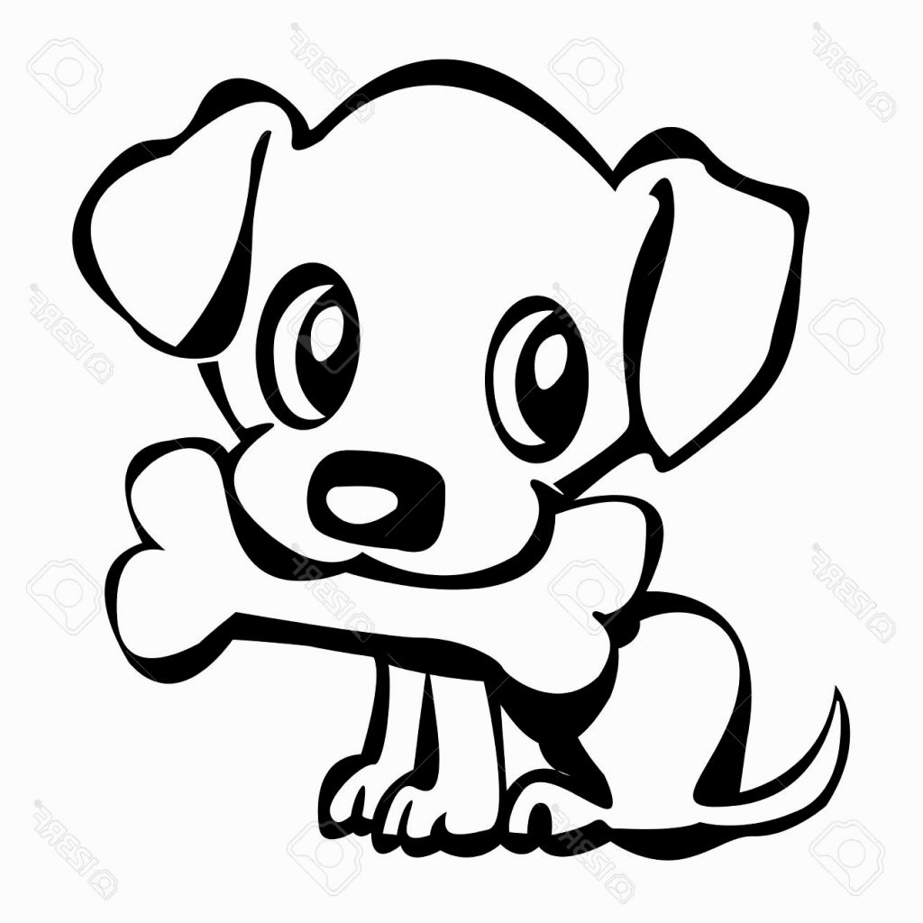 Cute Puppy Drawing At Getdrawings