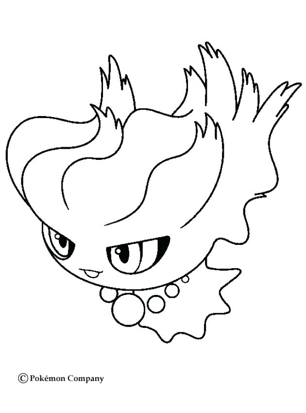Pokemon Cyndaquil Coloring Pages
