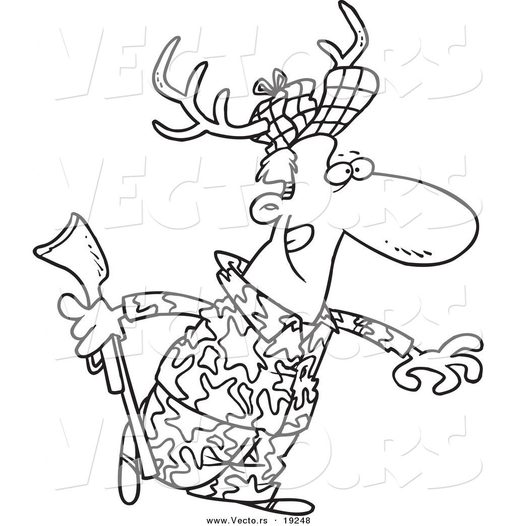 Deer Drawing Cartoon At Getdrawings