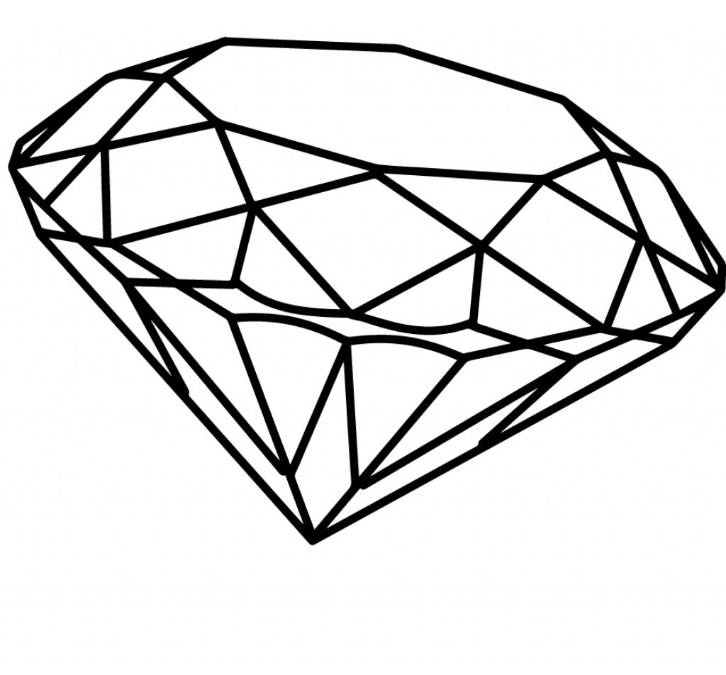 Diamond Drawing Image At Getdrawings