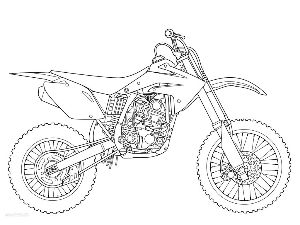 Dirt Bikes Drawing At Getdrawings