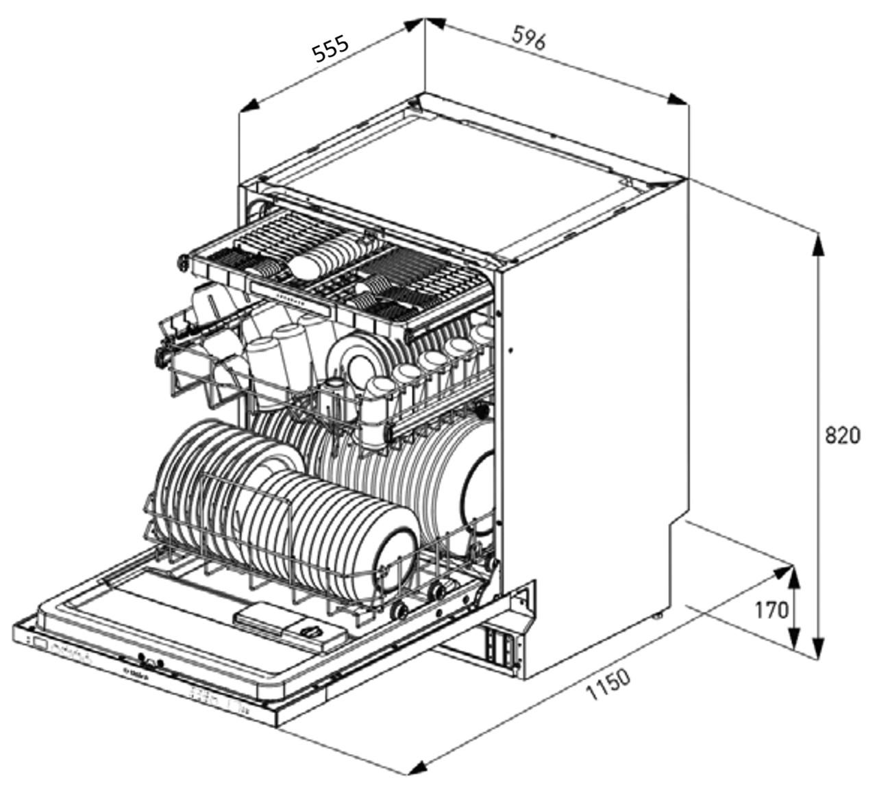 Dishwasher Drawing At Getdrawings