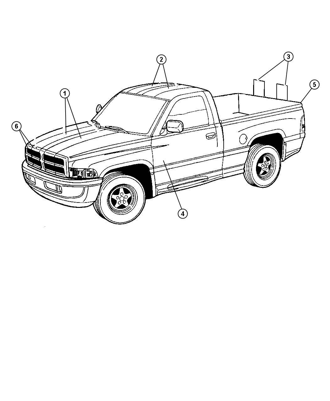 Dodge Ram Drawing At Getdrawings