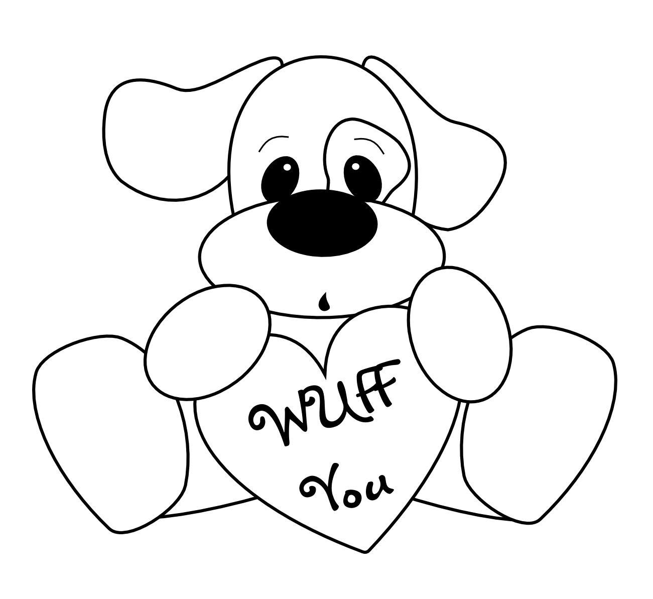 Dog Love Drawing At Getdrawings