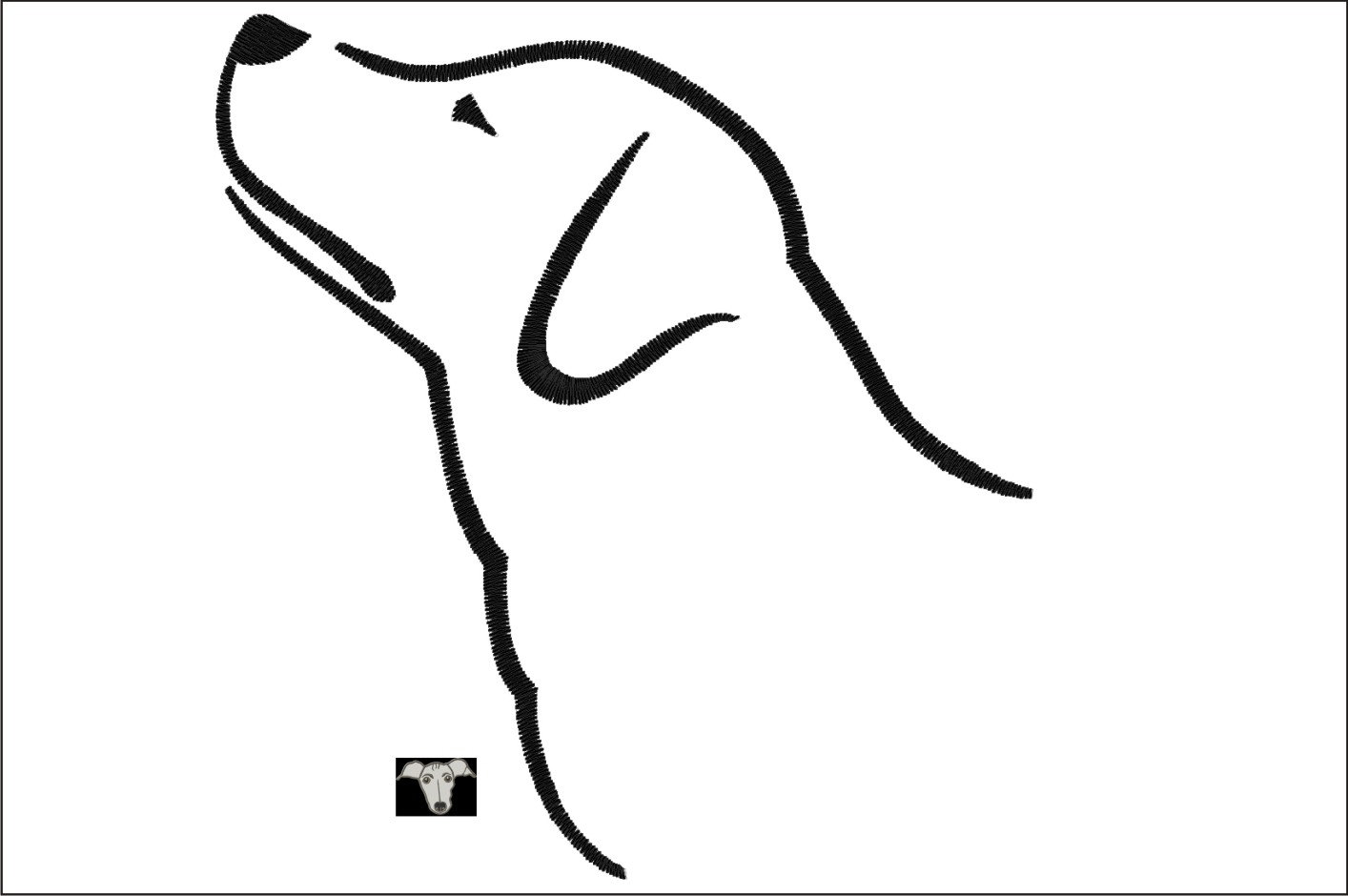 Dog Outline Drawing At Getdrawings