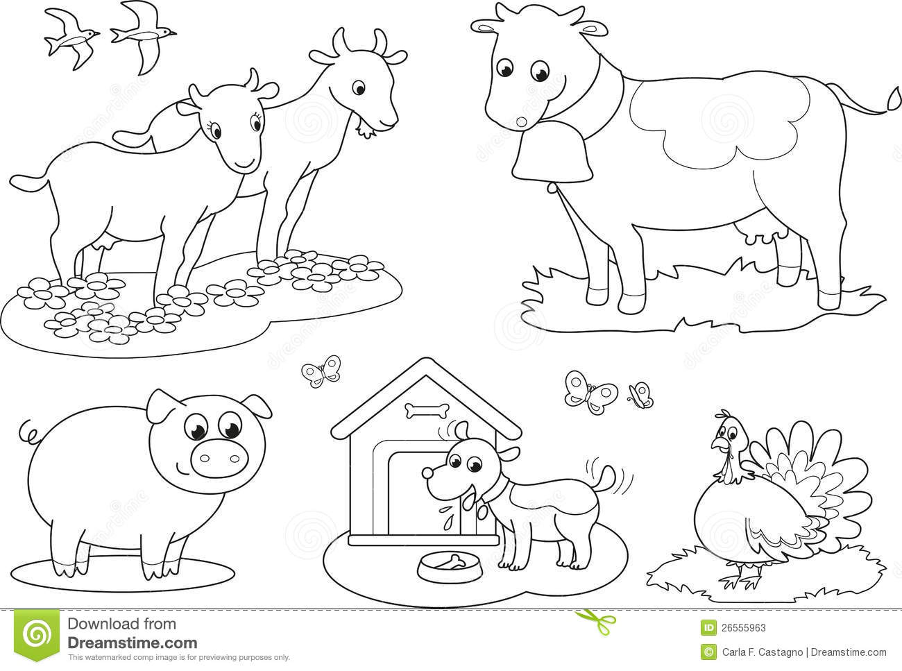 Domestic Animals Drawing Pictures At Getdrawings