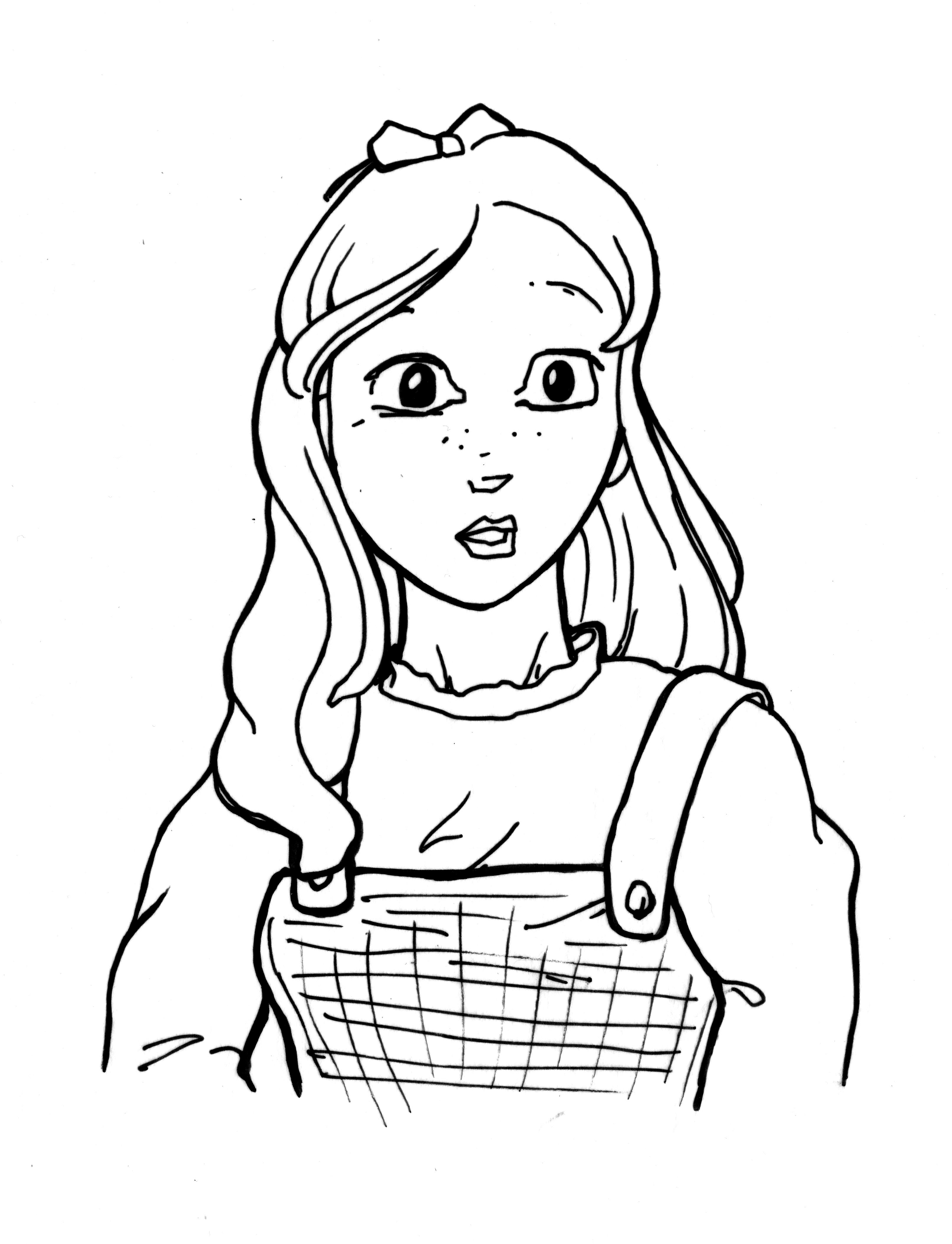 Dorothy Drawing At Getdrawings