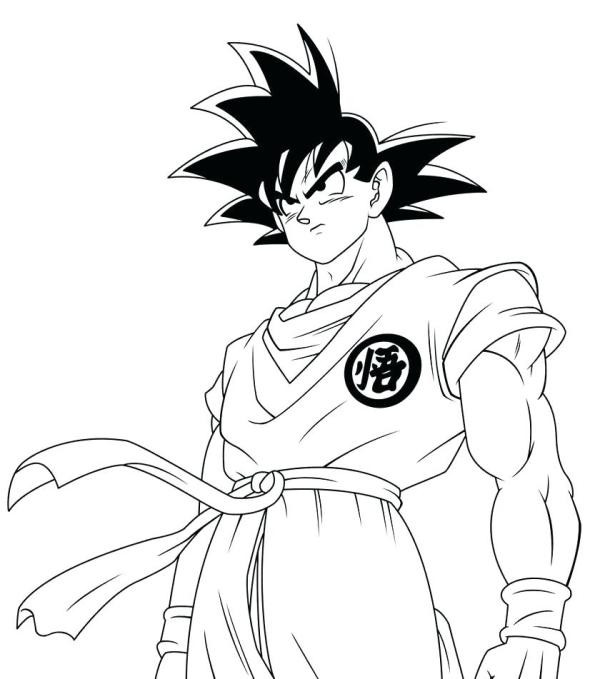 dragon ball gt coloring pages # 37