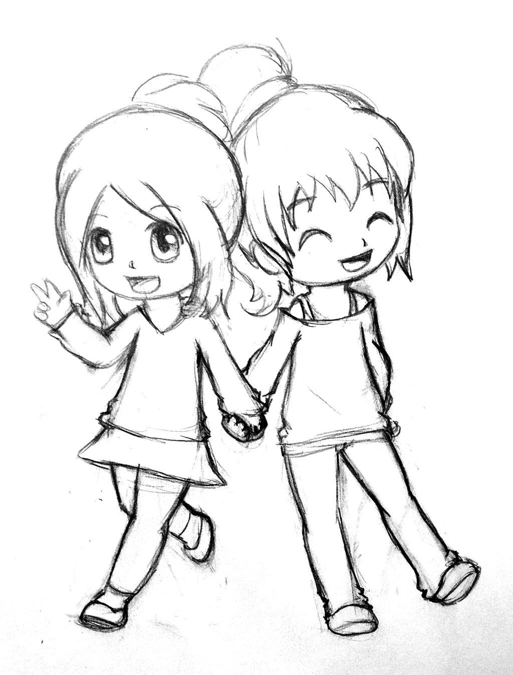 Drawing For Friendship At Getdrawings