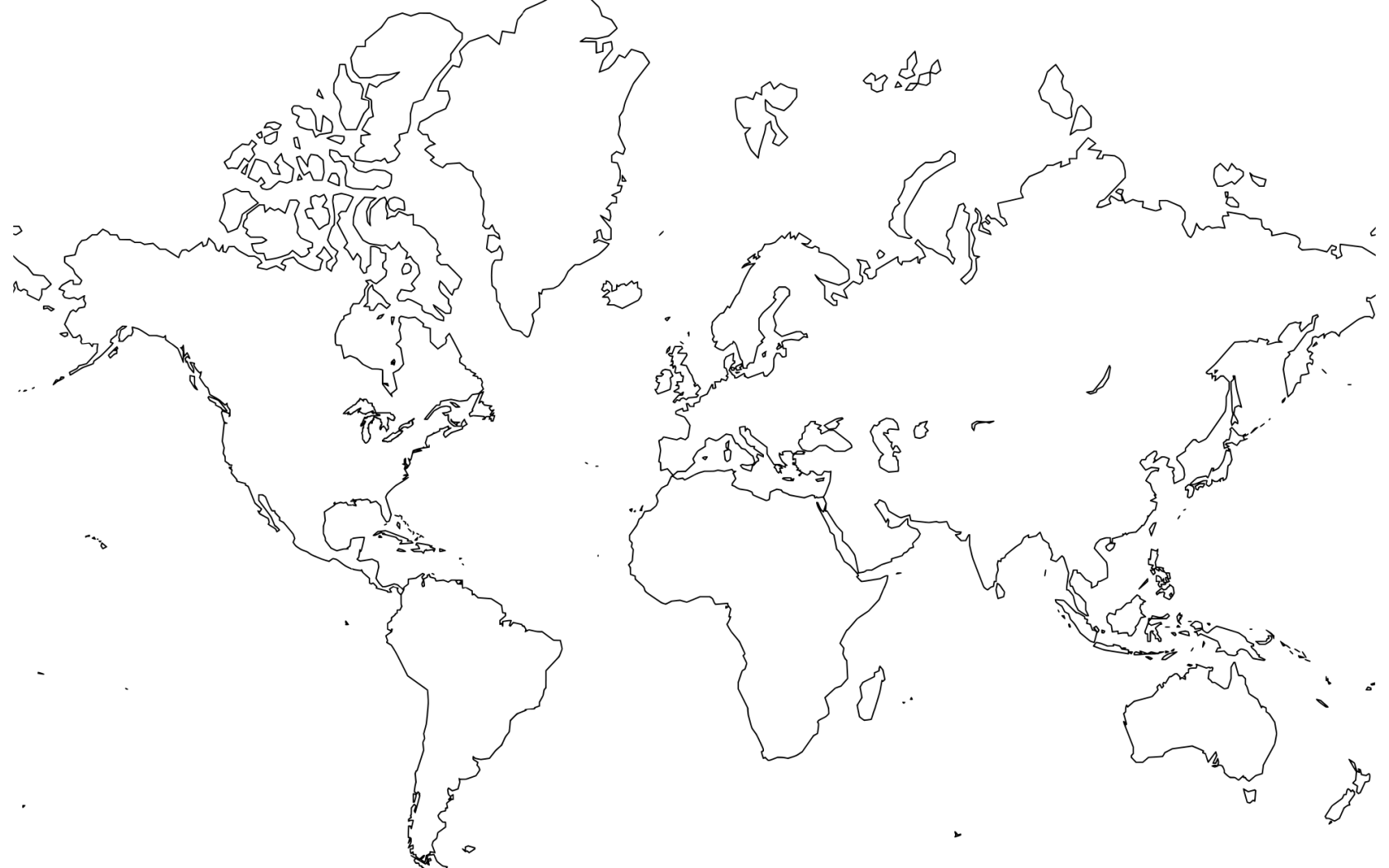 World Map In High Quality Choice Image