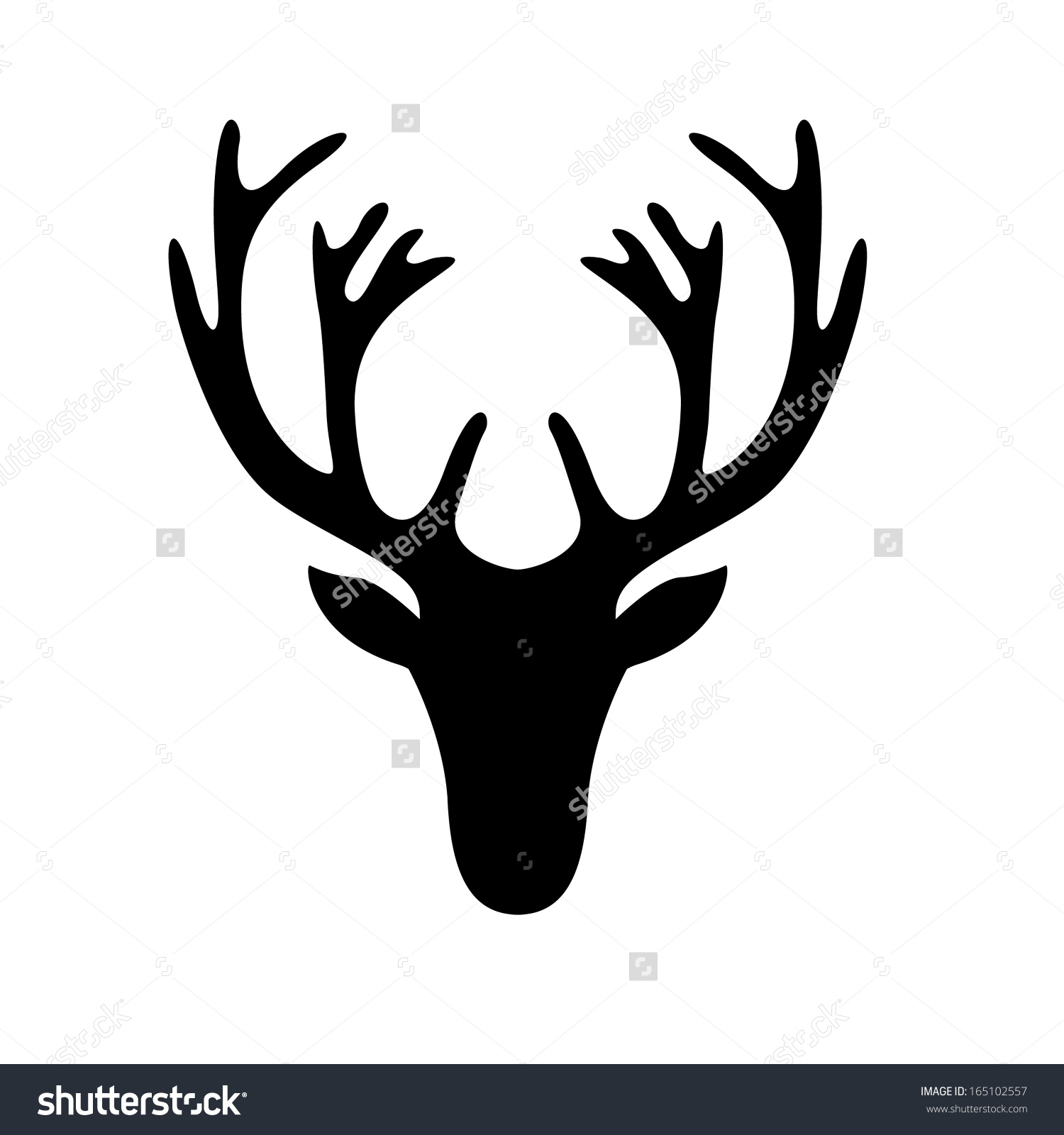 Simple Reindeer Template Vaydileforic