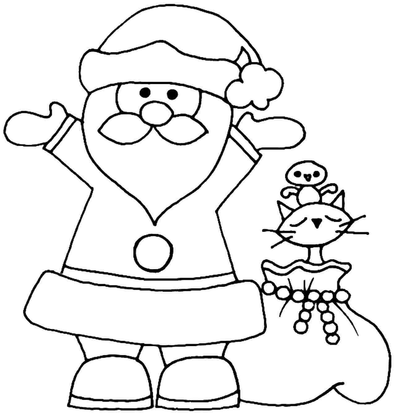 Easy Drawing Santa Claus At Getdrawings