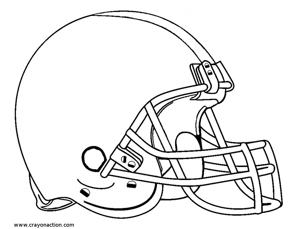 Easy Football Helmet Drawing At Getdrawings