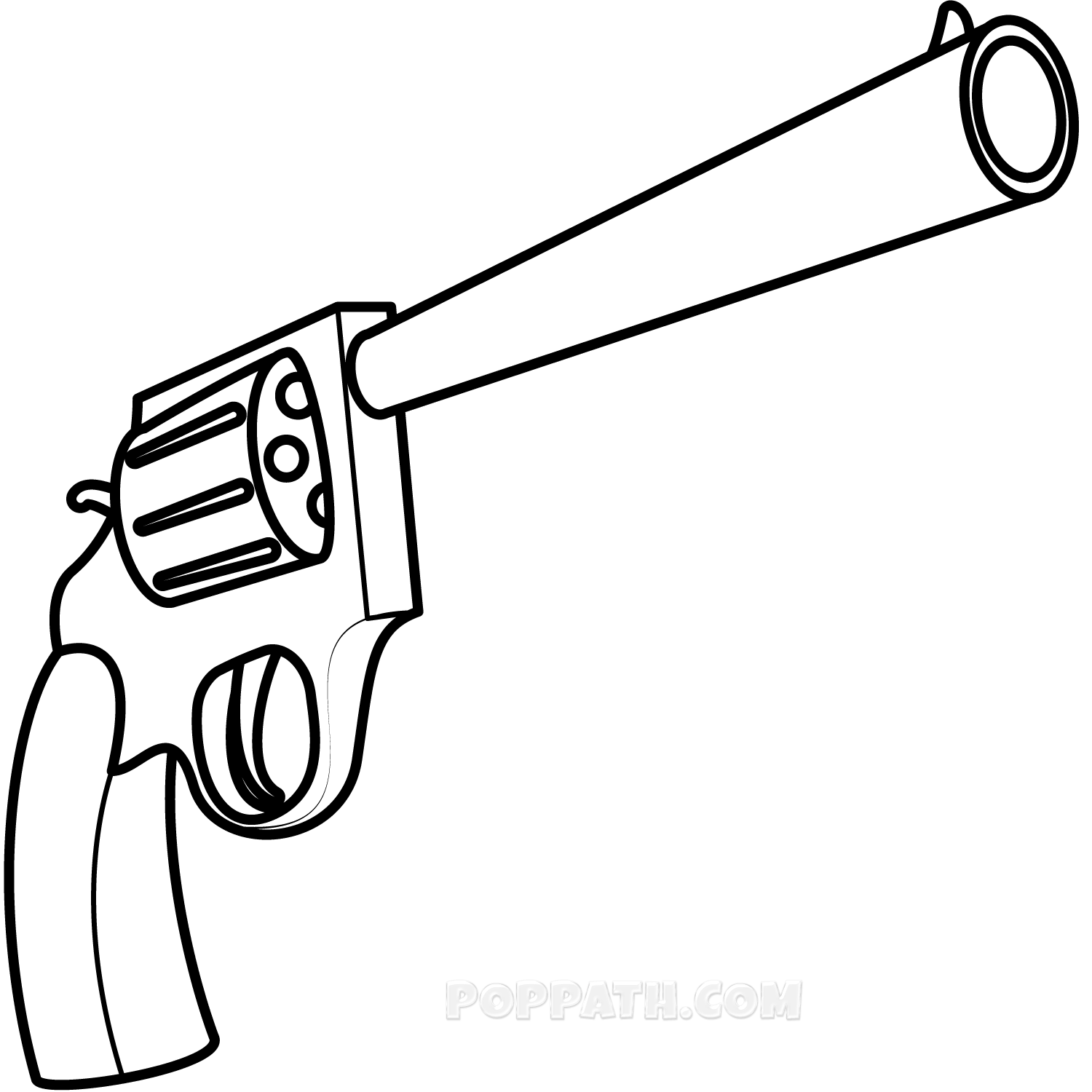 Image result for Gun drawing