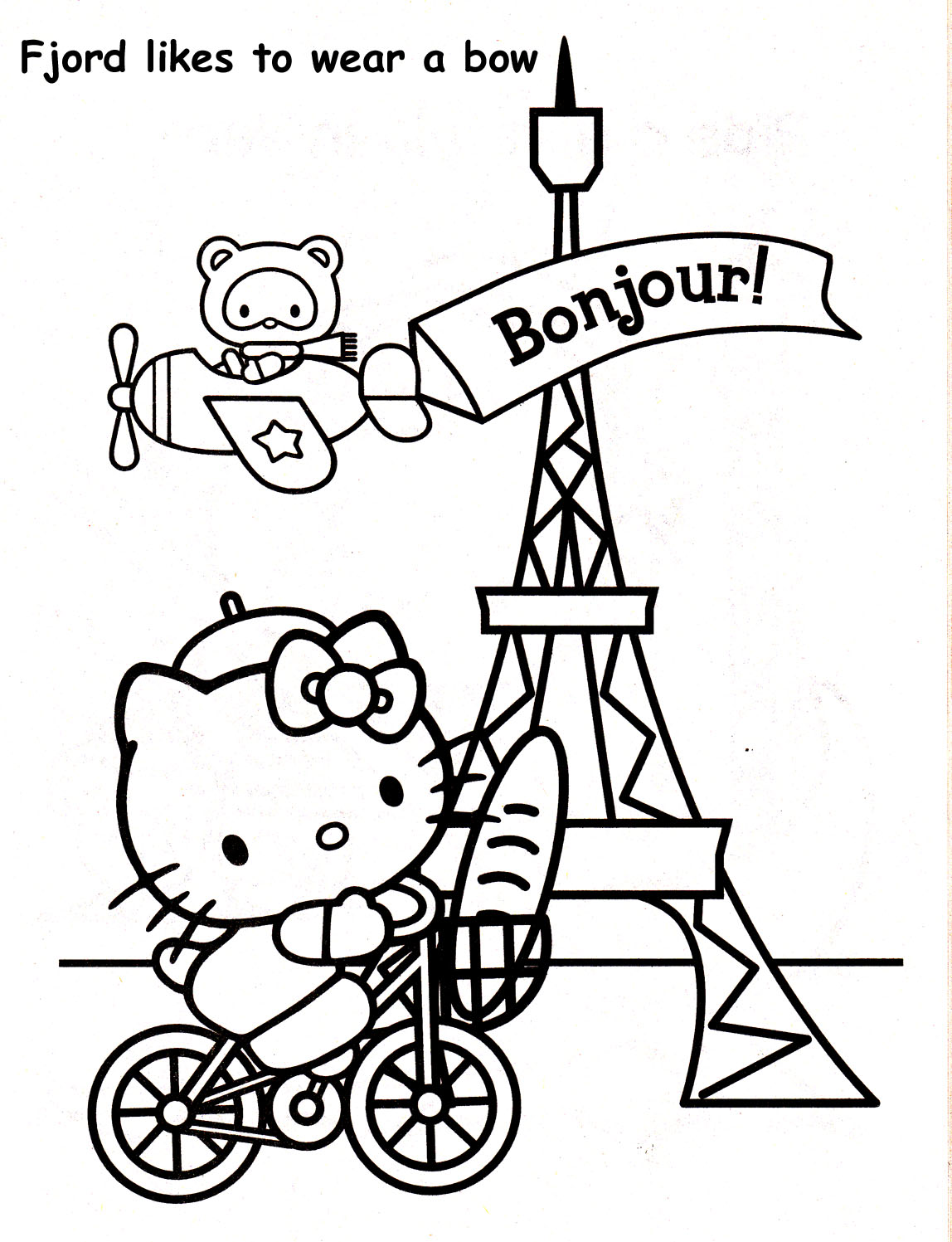 Eiffel Tower Drawing For Kids At Getdrawings