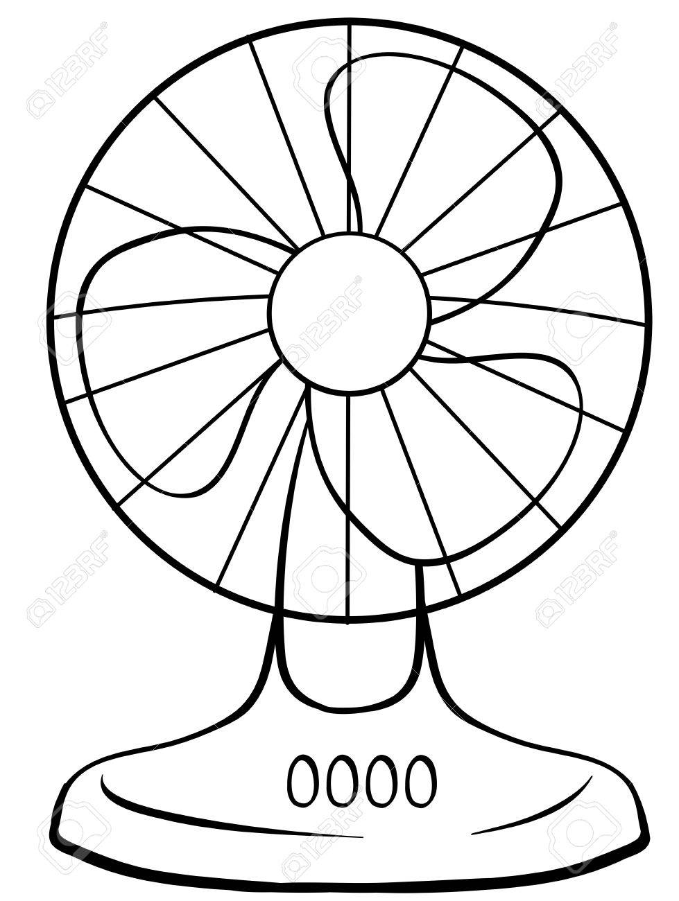 979x1300 close up electric fan with buttons royalty free cliparts vectors