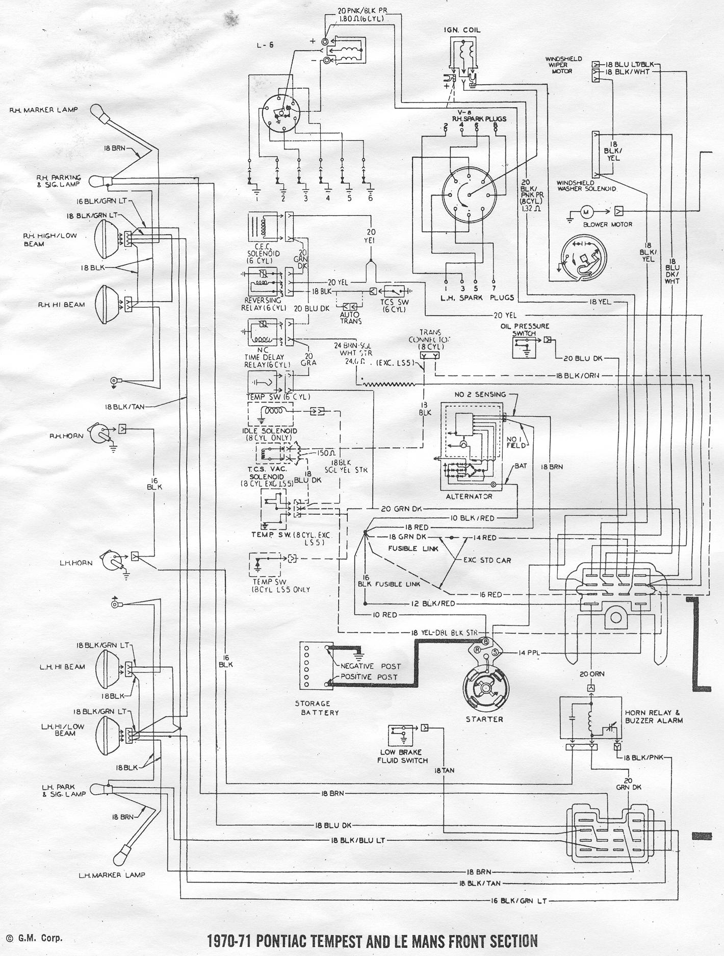 67 Gto Wiring Diagram