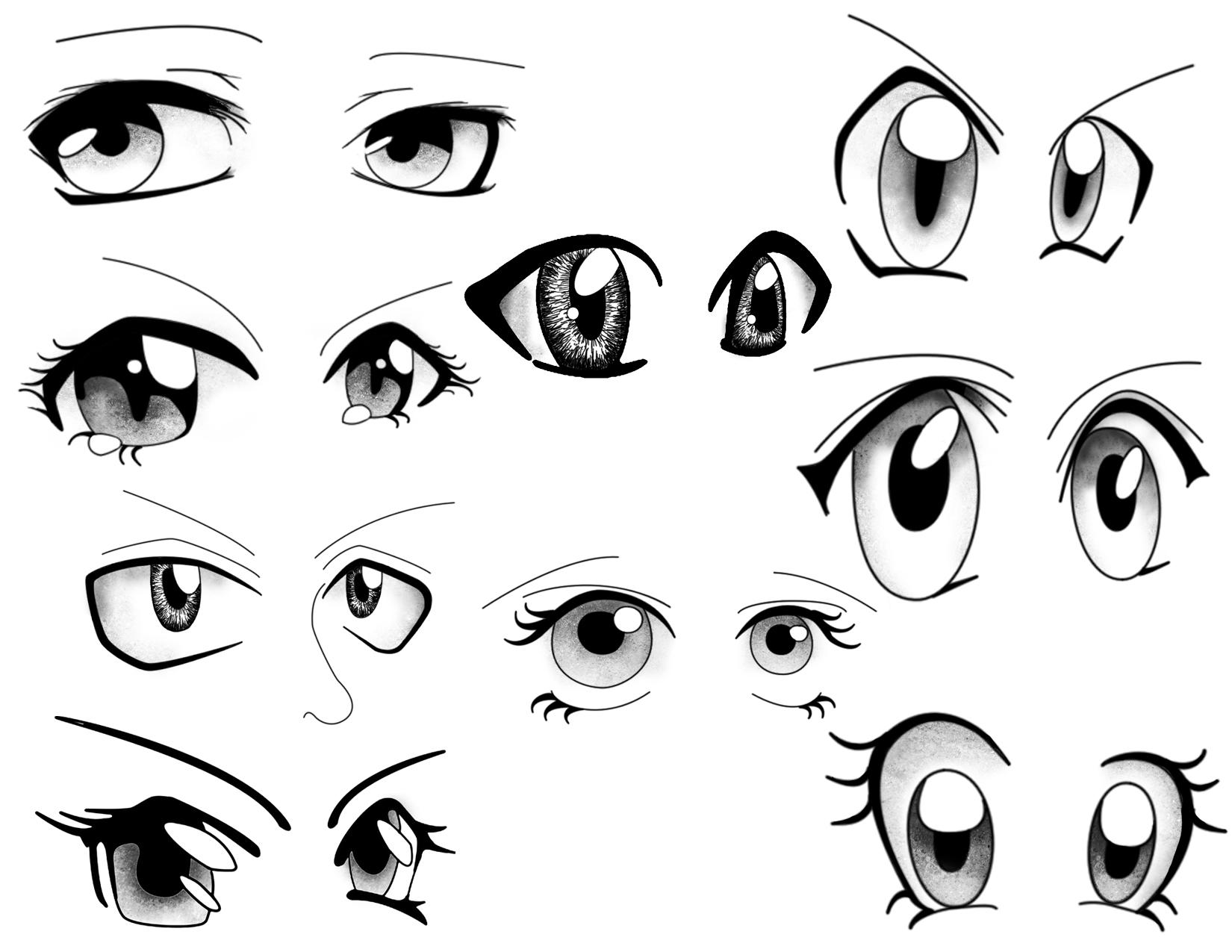 Eye Tutorial Drawing At Getdrawings