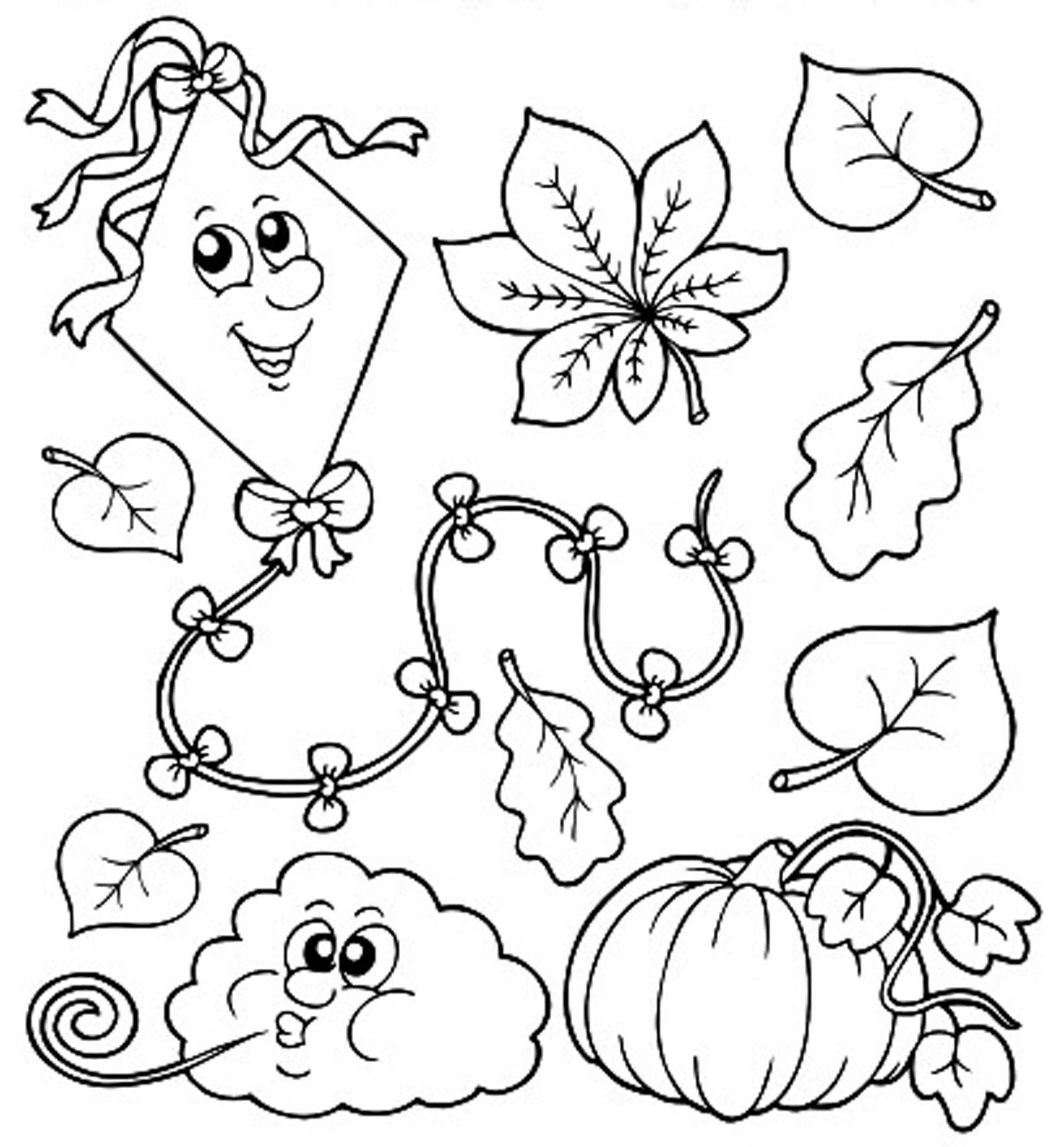 Fall Drawing For Kids At Getdrawings