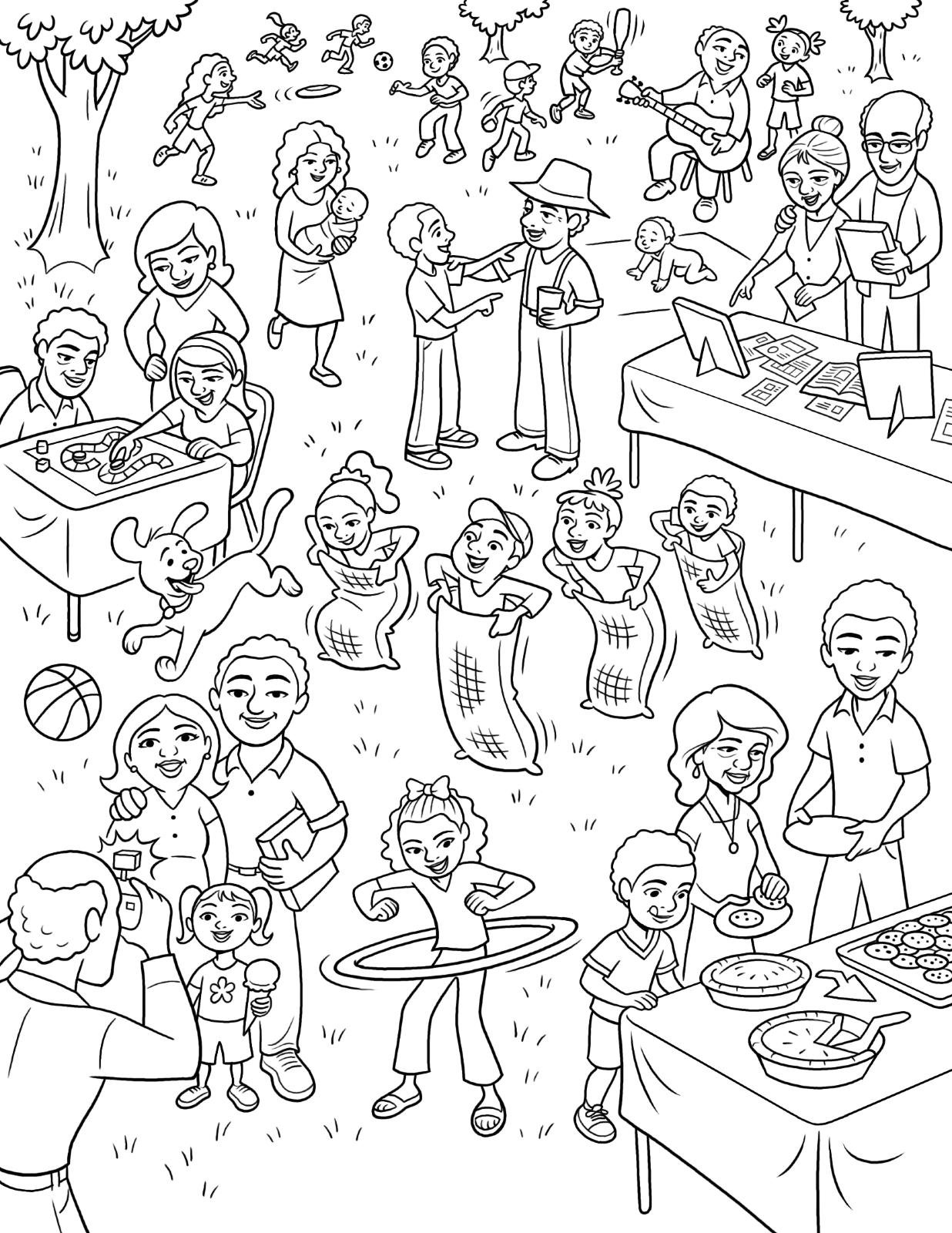 Families Drawing At Getdrawings