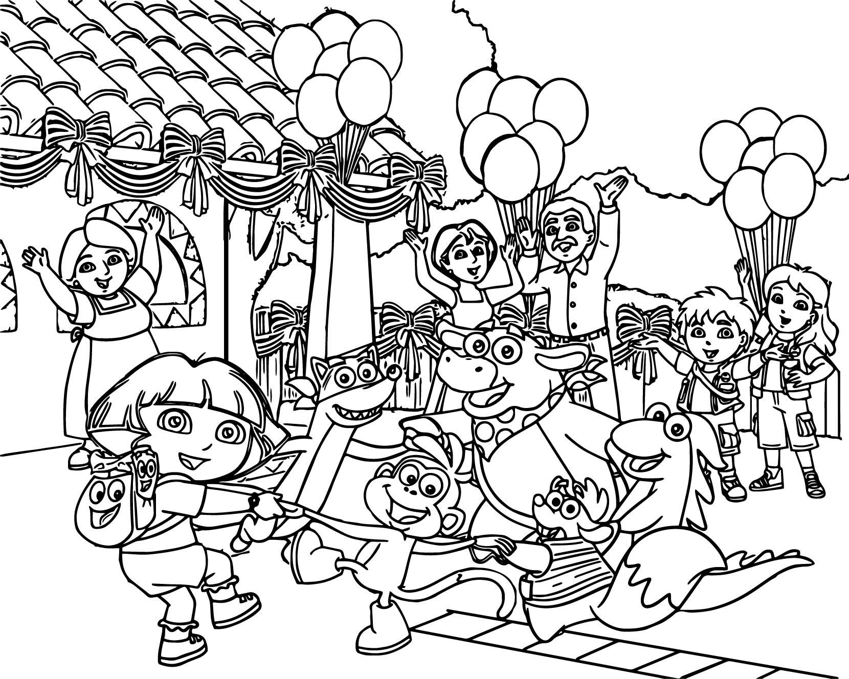 Family Drawing Cartoon At Getdrawings