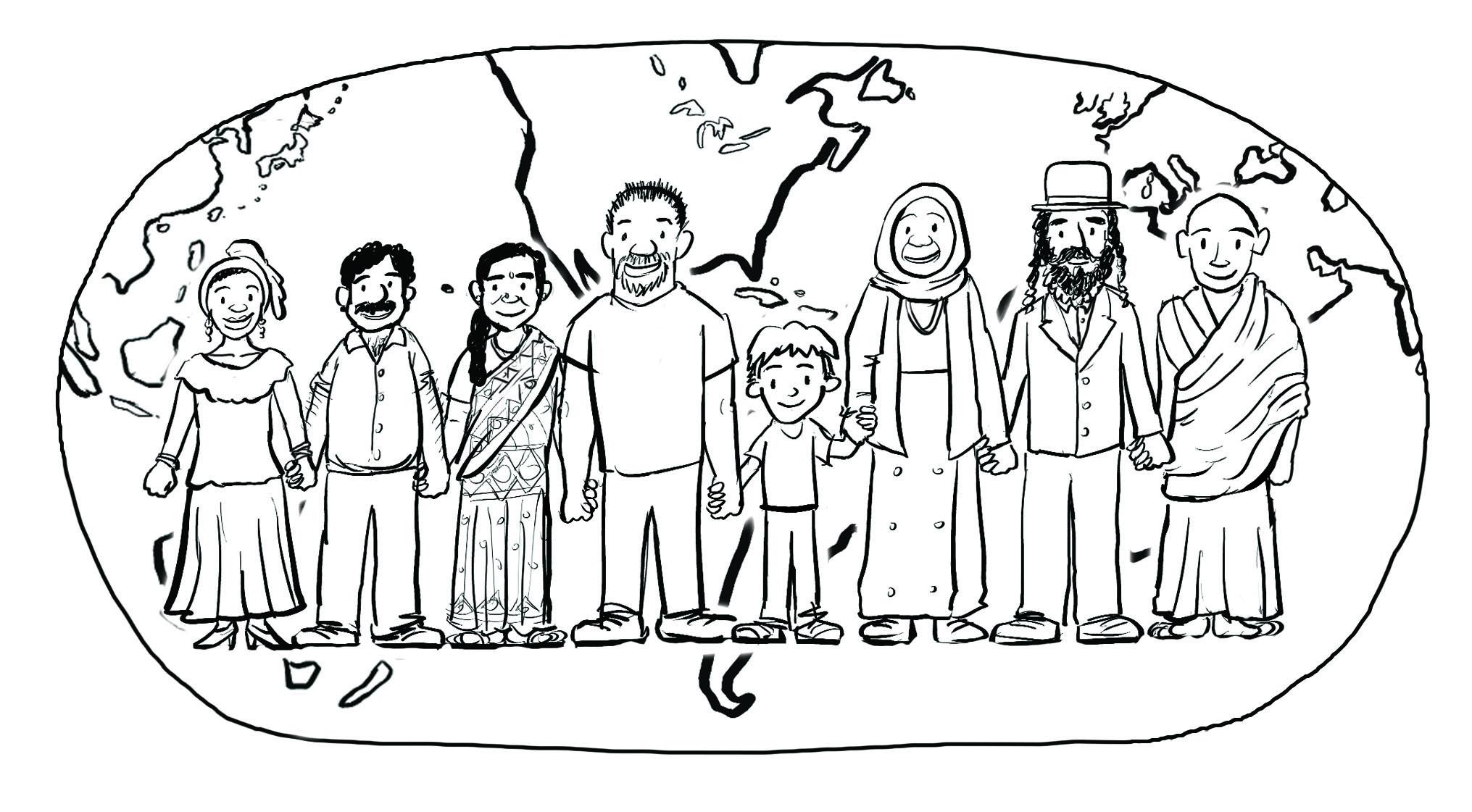 Family Members Drawing At Getdrawings