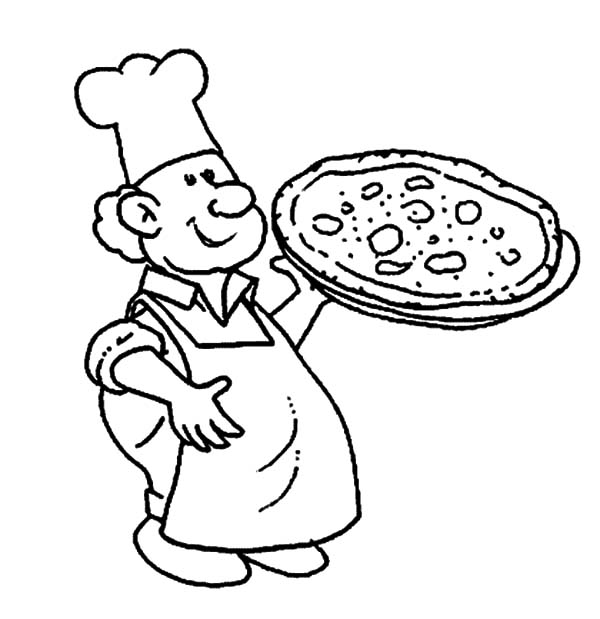 fat chef drawing at getdrawings  free download