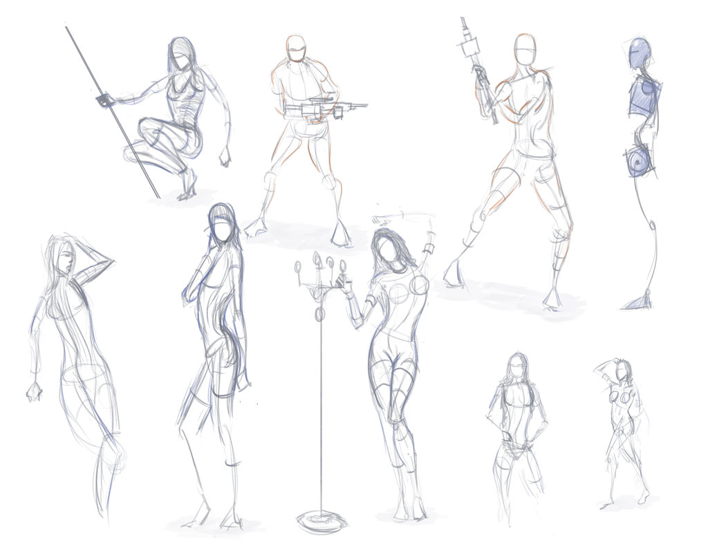 Hourglass Figure Drawing At Getdrawings
