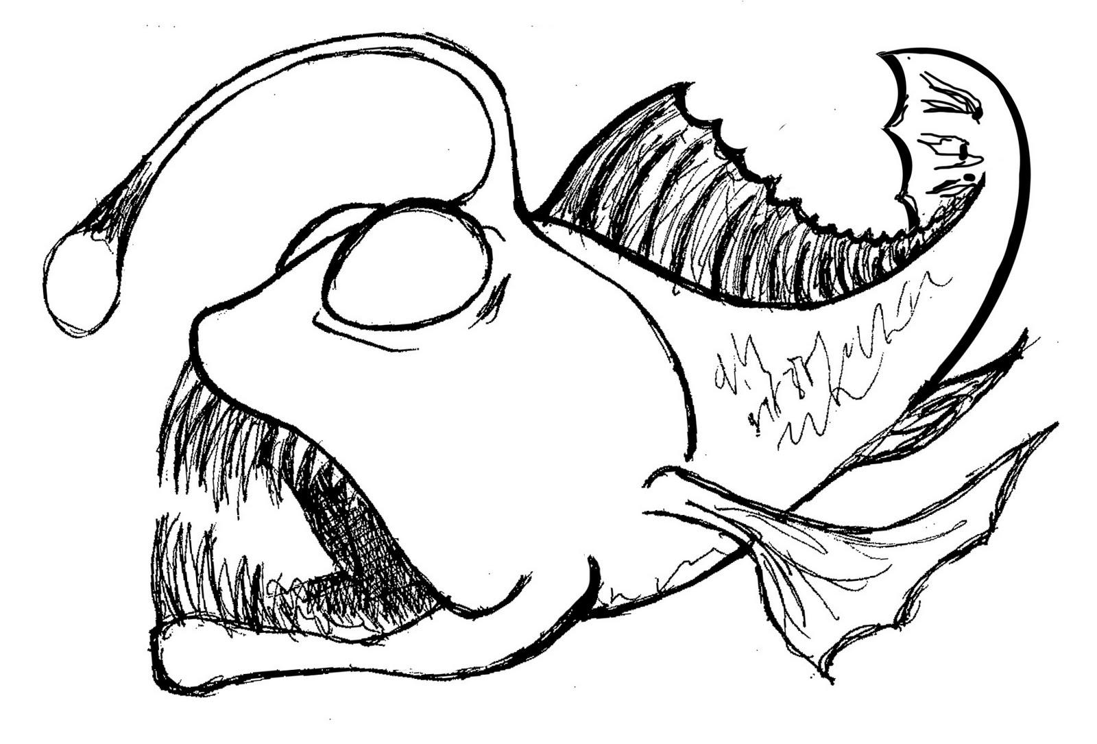 Fish Drawing In Pencil At Getdrawings