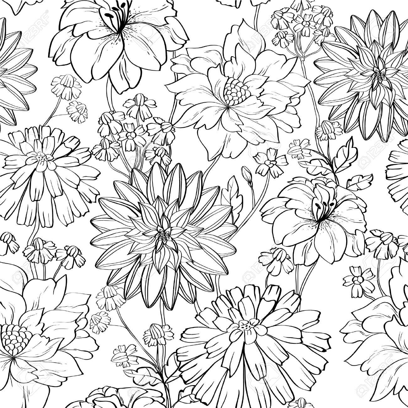 Flower Drawing Wallpaper At Getdrawings