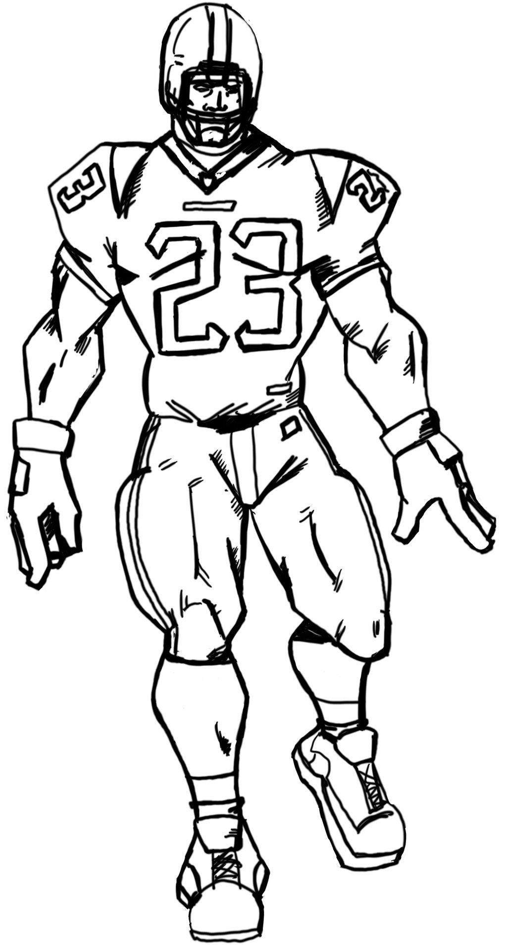 Football Drawing At Getdrawings